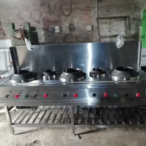 Commercial Chinese Gas Range