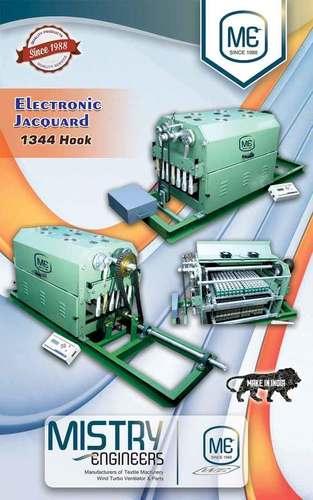 Electronic Jacquard Machine - 1344 Hook