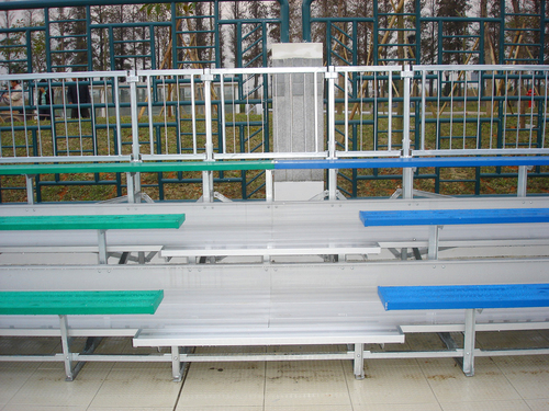Outdoor Temporary Sports Tribune And Metal Bleacher