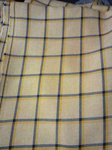 Stripes Polyester Suiting Fabric
