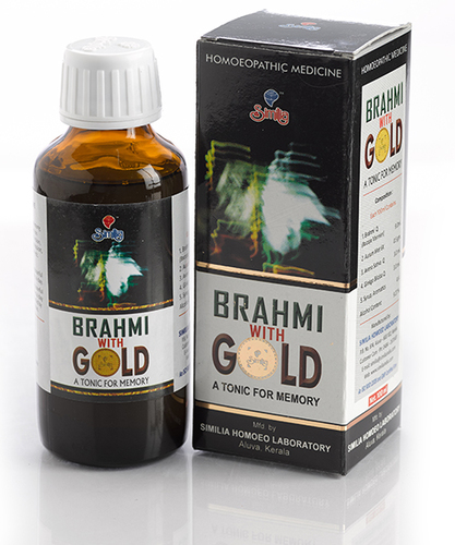 Brahmi With Gold Tonic