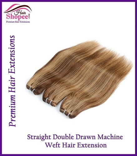 Double Drawn Straight - Light Brown
