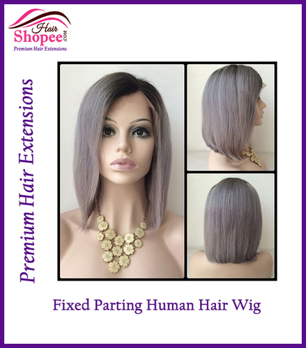 Fixed Side Parting Wigs
