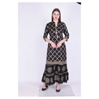 Rayon Designer Kurti with Palazzo - Summer Collection