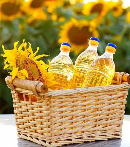 100% Refined Cooking Sunflower Oil