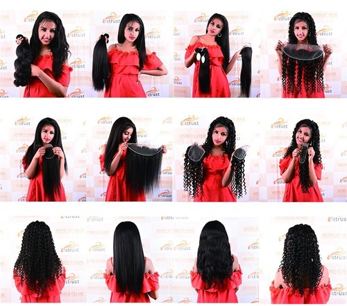 22 Inch Human Virgin Straight Hair Extension