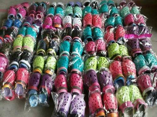 Mixed Color Crocks Shoes