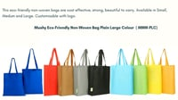 Plain Recyclable Promotion Bags