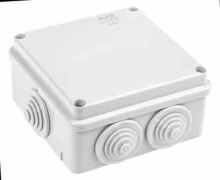 Shock Proof Electrical Junction Box