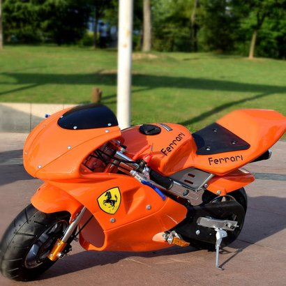 Two Wheeler Sport Electric Toy Motorcycle 50Cc