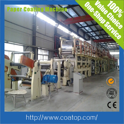 High Speed Ncr Coating Machine