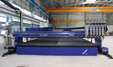 Messer Progres Cutting Table