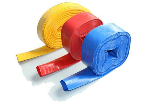 Plastic Pipe Blue, White and Black Color