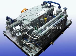 Gas Compressor For CNG Refueling Station