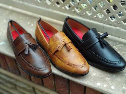 Mens Designer Leather Loafer Shoes