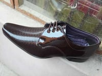 Mens Shiny Party Wear Shoes