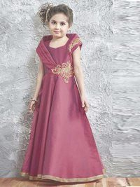 Exclusive Designer Kids Party Wear Gown