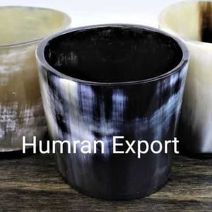 Handcrafted Natural Bone Glass
