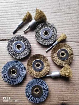 Strong Brass Wire Brush