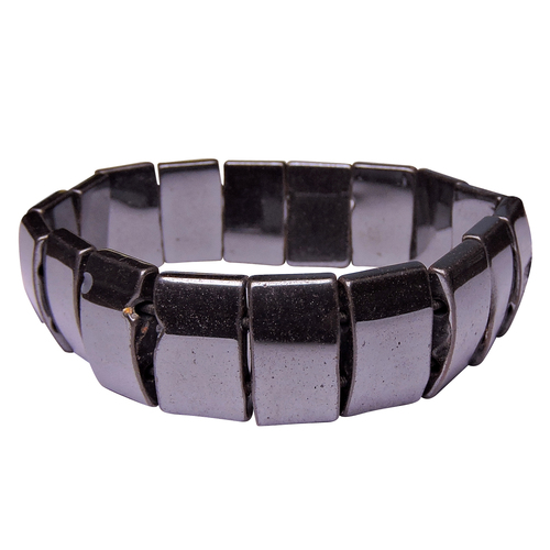 Natural Stone Hematite Gemstone Bracelet Ii