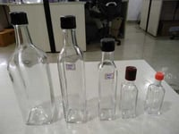 Perfect Finish Glass OiL Bottle