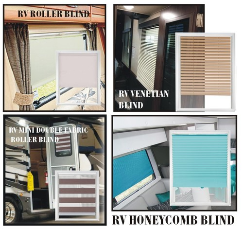 RV Window Blinds, Shades