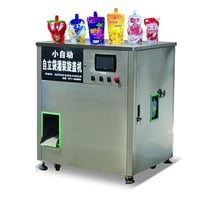 Spout Pouch Filling And Capping Machine For Fruit Juice