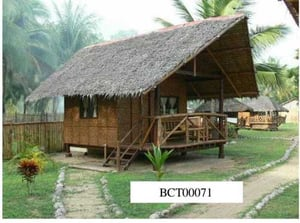 High Durability Bamboo Cottages