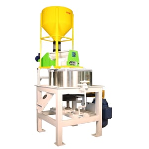 Square Frame Mill With Feeding Hopper