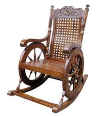 Accurate Design Wooden Swing Chair