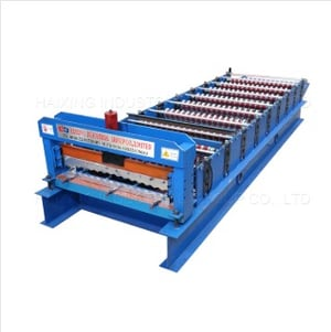 Corrugated Roll Forming Metal Roof Tiles Machine