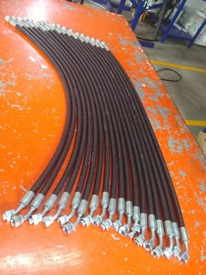 Hydraulic Hoses with Connectors