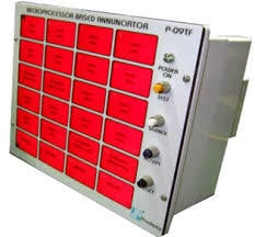 Microprocessor Based Window Annunciator Usage: Used As An Indicator Of The Status Of The System Or Equipment Under Use In A Building
