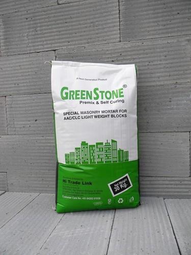 Greenstone Premix And Self Curing Mortar