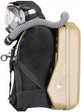 Insulated Positive Pressure Oxygen Respirator Application: Mining