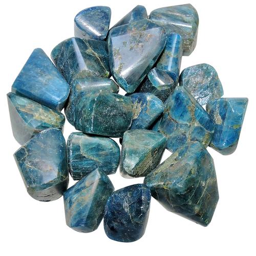 Natural Energized Apatite Tumble Stone For Vastu Correction