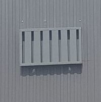 Sand Trap Industrial Louver
