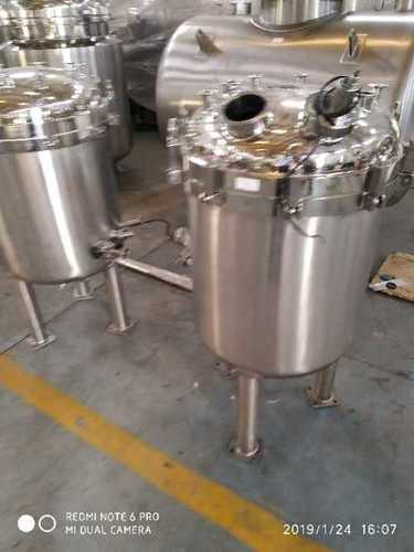 Stainless Steel Storage And Jacketed Tank