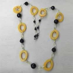 Acrylic Beaded Women Necklace
