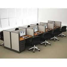Office Workstation Computer Cubicle