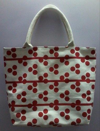 Printed Canvas Bags With Loop Handle