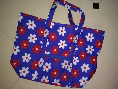 As Per Demand Printed Cotton Carry Bags