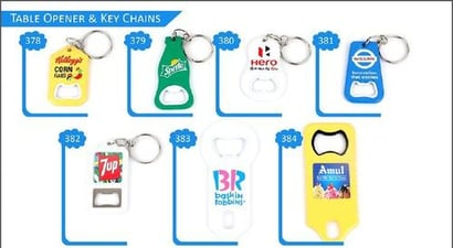 Customized Table Opener And Key Chain (2018-2019)