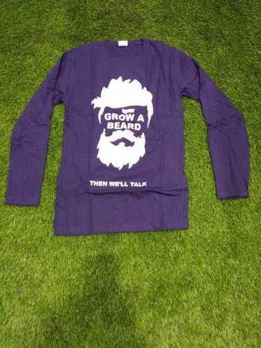 Customized Print Men T Shirt