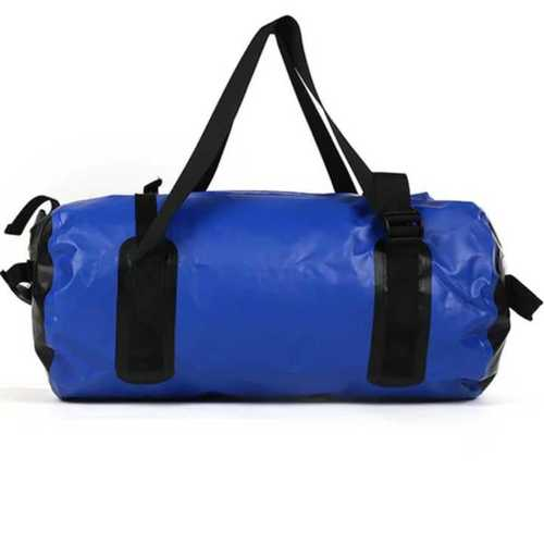 Blue Pvc Waterproof Gym Bag