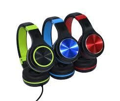 Stereo Headset With Adjustable Head Band
