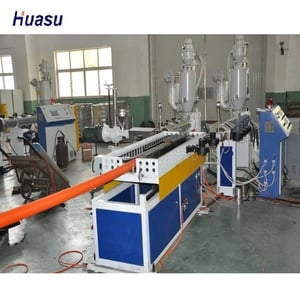 HDPE/PP DWC Pipe Extruder Line
