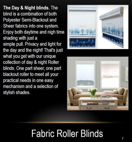 Window Fabric Customized Blind