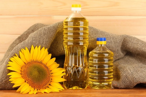 Pure Natural Sunflower Oil