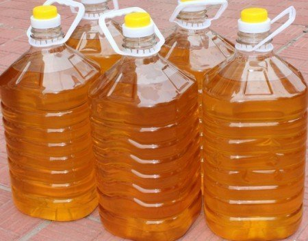 Used Cooking Vegetable Oil